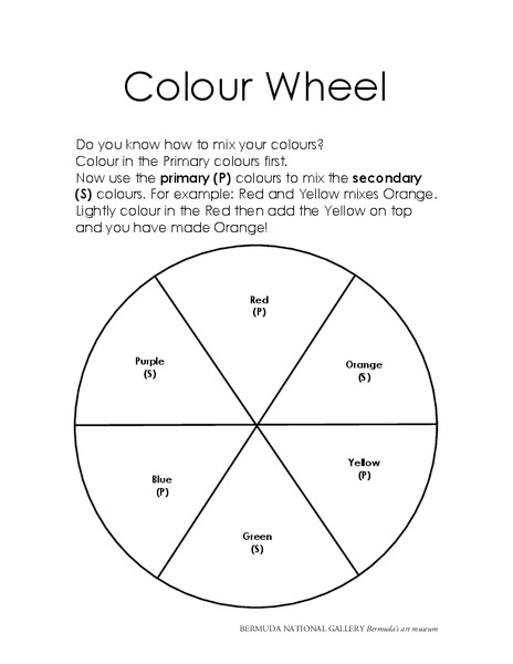The Color Wheel Lesson Plan