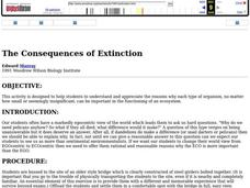 The Consequences of Extinction Lesson Plan