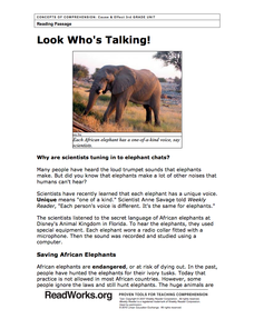 14+ The great elephant census worksheet answers Online
