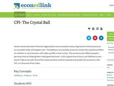 The CPI- A Crystal Ball? Lesson Plan