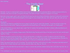 The Creaky Door Lesson Plan