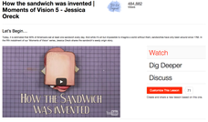 How the Sandwich Was Invented Video
