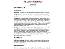 The Dinosaur Body Lesson Plan