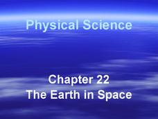 The Earth in Space Presentation