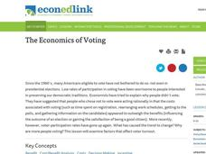 The Economics of Voting Lesson Plan