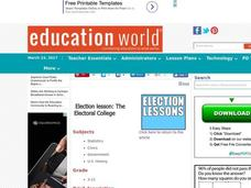 The Electoral College Lesson Plan