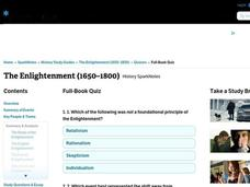 The Enlightenment (1650–1800)      Interactive