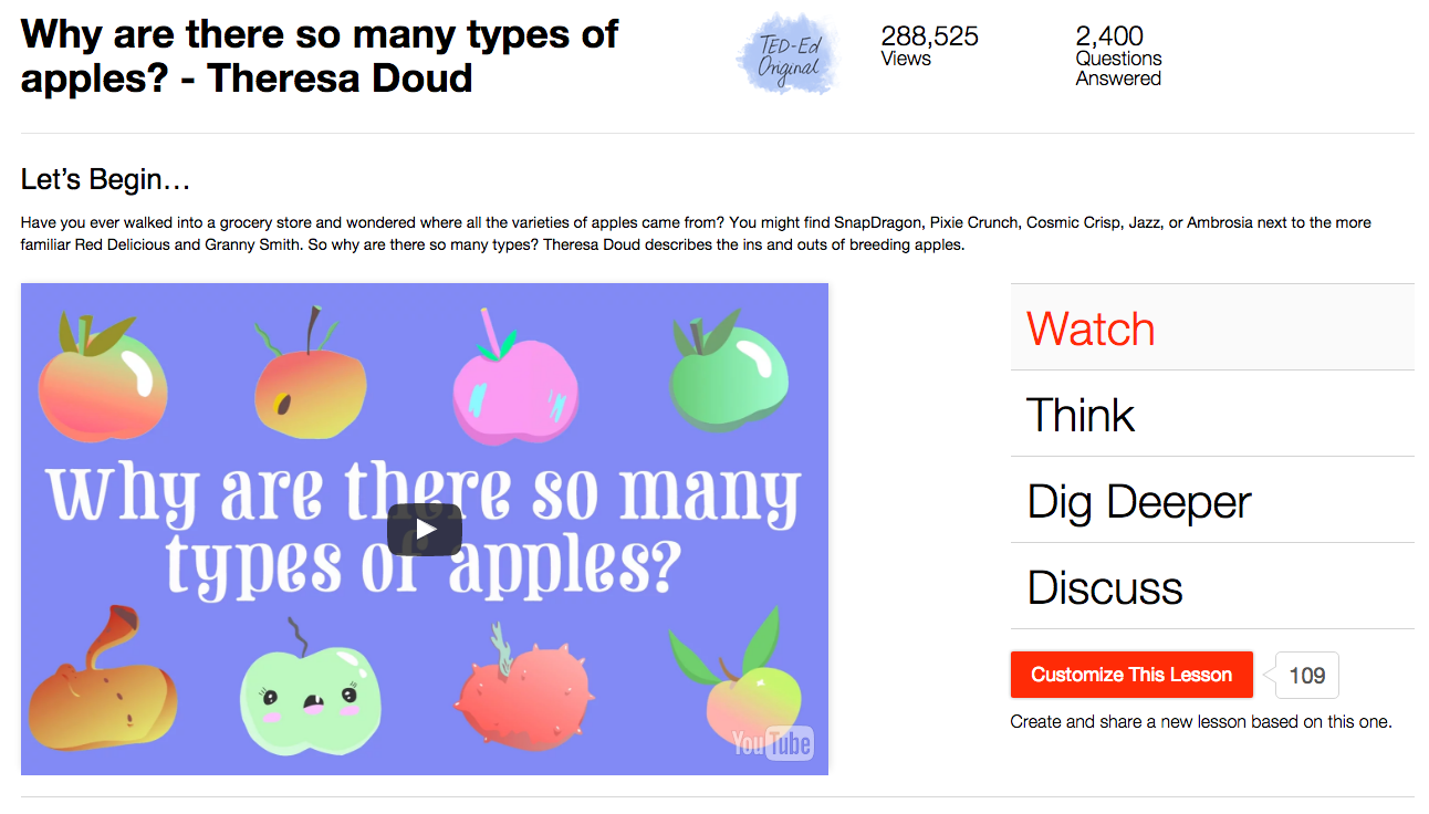 Why Are There so Many Types of Apples? Video