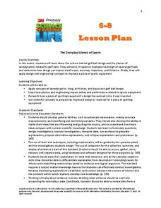 The Everyday Science of Sports Lesson Plan