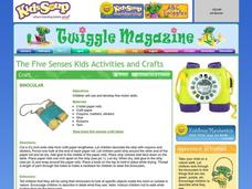 The Five Senses Kids Activities and Crafts Lesson Plan