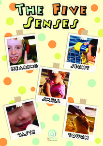 The Five Senses Printables & Template