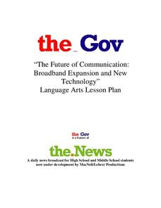 The Future of Communication: Broadband Expansion and New Technology Lesson Plan