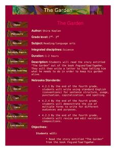 The Garden Lesson Plan