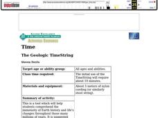The Geologic TimeString Lesson Plan
