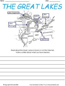 The Great Lakes Worksheet