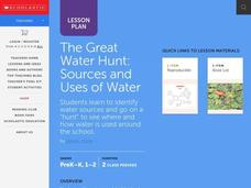The Great Water Hunt Lesson Plan