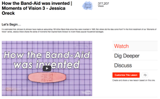 How the Band-Aid® Was Invented Video