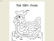 The Hen Maze Worksheet