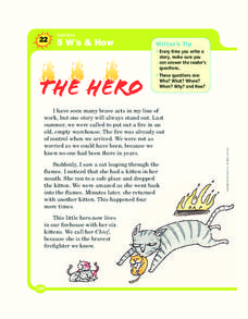The Hero Worksheet