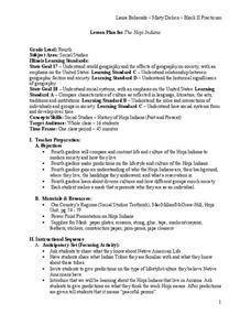 The Hopi Indians Lesson Plan