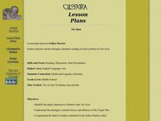 The Iliad Lesson Plan