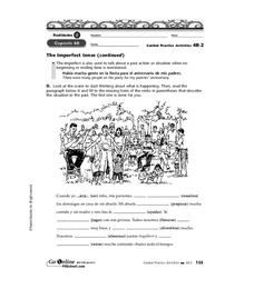 The Imperfect Tense Worksheet