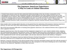 The Japanese American Experience Lesson Plan