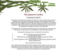The Japanese Garden Lesson Plan