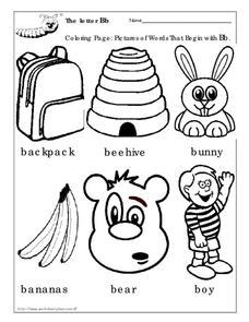 The Letter Bb Worksheet