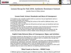 Antibiotic Resistance Lesson Plan