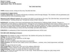 The Little Red Hen Lesson Plan
