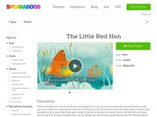 The Little Red Hen Worksheet