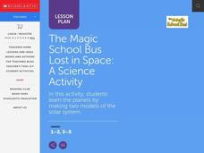 The Magic School Bus Lost in Space Lesson Plan