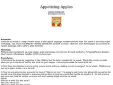 Appetizing Apples Lesson Plan