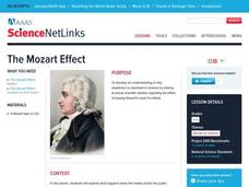 The Mozart Effect Lesson Plan