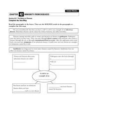 The Nature of Disease Worksheet