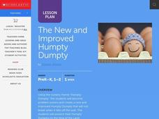 The New and Improved Humpty Dumpty Lesson Plan