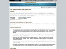 The New Promised Land Lesson Plan