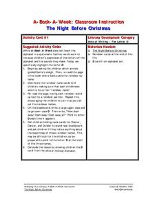 The Night Before Christmas Lesson Plan