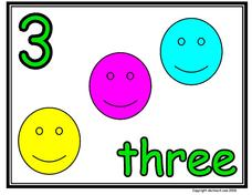 The Number 3 Worksheet