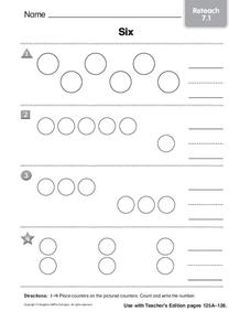 The Number 6 Worksheet