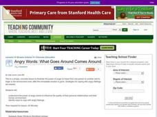 Angry Words: What Goes Around Comes Around Lesson Plan