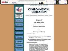 The Ozone Layer Lesson Plan