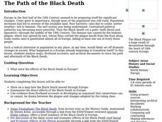 The Path of the Black Death Lesson Plan