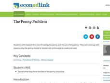 The Penny Problem Lesson Plan