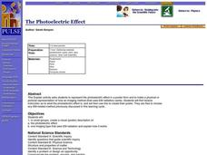 The Photoelectric Effect Lesson Plan