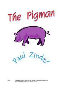 The Pigman Lesson Plan