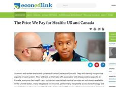 The Price We Pay for Health: US and Canada Lesson Plan