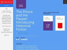 The Prince and the Pauper Lesson Plan