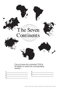The Seven Continents Lesson Plan